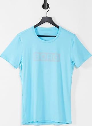 Bjorn Borg Hydro Pro Active Logo Stripe Men/'s T-Shirt Black Beauty
