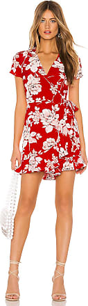 Yumi Kim Frill Seeker Romper in Red