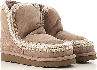 Mou Boots for Women, Booties On Sale, Grey, Suede leather, 2017, EUR 39 - UK 6 - USA 8.5