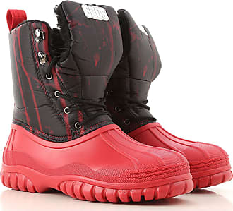 GCDS Boots for Men, Booties On Sale, Red, Rubber, 2019, 6.5 7 9 9.5