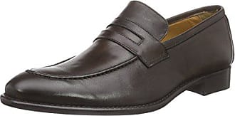 Florsheim EU 8 Dk Marron Homme Mocassins Ravel 42 UK Brown rwqr0fpS