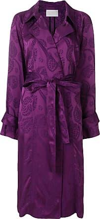 Peter Pilotto Trench coat jacquard - Rosa