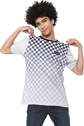 Fatal Surf Camiseta Fatal Xadrez Race Cinza