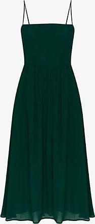 Reformation Womens Green Rosehip Midi Dress