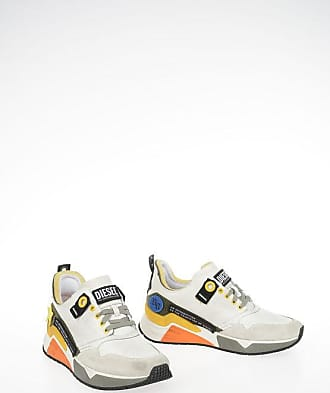 Diesel Leather BRENTHA S-BRENTHA LC VELCRO Sneakers size 43