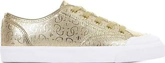 Guess Gitney3 Trainers Women Gold - UK:6.5 - Low Top Trainers Shoes