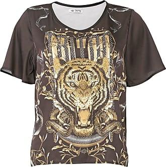 Triton Camiseta Triton Aplicações Preta