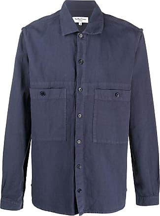 Ymc You Must Create Camisa Doc Savage - Azul
