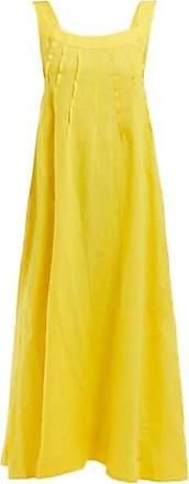 Three Graces London Ninetta Dress in Yellow