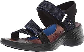 Bzees Womens JIVE Sport Sandal, Blue, 7.5 M US