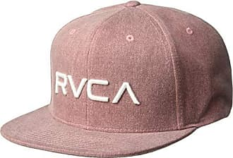 sports shoes 8a05e bd3d8 Rvca Mens Twill Snapback HAT, Rustic red, ONE Size