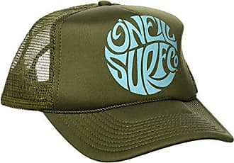 O'Neill Juniors Beach Day Screen Print Trucker Hat, Dusty Olive, One Size