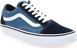 vans bleues femme
