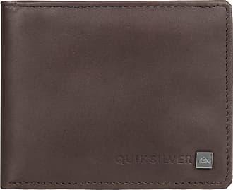 Quiksilver Curvecutter - Tri-Fold Wallet - Men - S - Brown