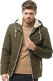 Brave Soul lightly padded jacket with a faux fur lined hood