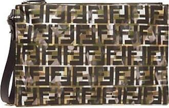 Fendi Pochette à imprimé FF et camouflage
