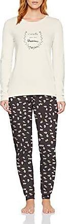 Skiny Purpose Sleep Shirt Langarm Camiseta de Pijama para Mujer