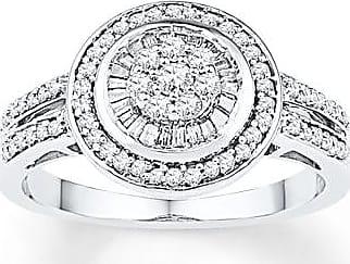 Kay Jewelers Diamond Ring 1/2 carat tw Sterling Silver