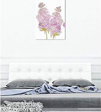 The Oliver Gal Artist Co. The Oliver Gal Artist Co. Floral Wall Art Canvas Prints Lilac Watercolor Home Décor, 30 x 40, Purple, Gold