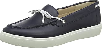 Hotter Womens Tempo Loafer Flat, Navy