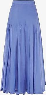 Three Graces London Elisha Skirt in Ocean Blue