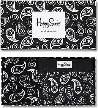 Happy Socks Paisley Combo Box (Boxer Shorts & Socks) Large