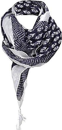 Gr 105 cm x 105 cm Halstuch blau gelb grau schwarz türkis Paisley gemustert
