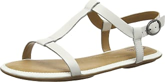 6a8ba66a002f8 Clarks Risi Hop, Womens Sling Back Sandals, White (white Leather), 6.5