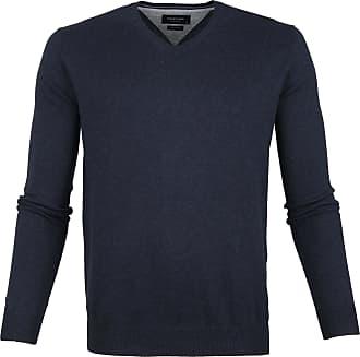 Profuomo Sky Blue pullover V Neck blue
