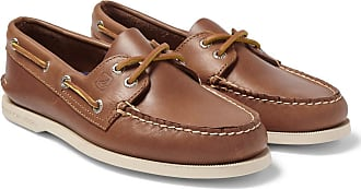 Sperry Top-Sider Authentic Original Leather Boat Shoes - Tan