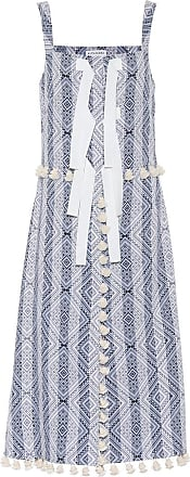 Altuzarra Villette jacquard tassel dress