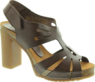 0768b4b36f7 Yokono Ladies Malibu Heeled Sandals In