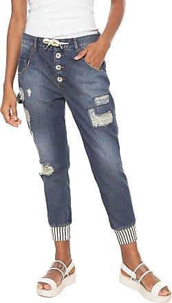 Oh, Boy! Calça Jeans OH BOY Jogger Destroyed Azul