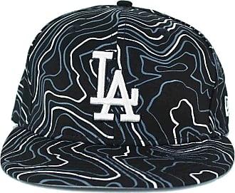 New Era Fitted Caps, MLB 59Fifty, LA Dodgers, Contour Crown, Black (7)