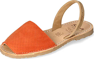 Ria Menorca Orange Menorcan Sandals for Women - 41
