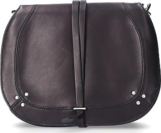 Jerome Dreyfuss Handbag NESTOR leather logo studs black