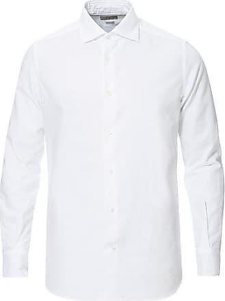 Robo Stretch Poplin Hvit Skjorte