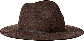 Coal Mens The Harmon Hat Wide Brimmed Fedora, Heather Brown, Large