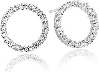 Sif Jakobs Jewellery Earrings Biella Uno with white zirconia
