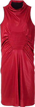 Uma Vestido midi Bósnia - Vermelho