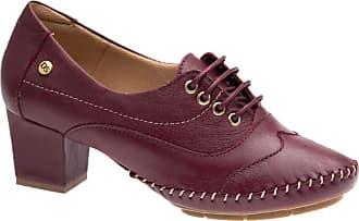 Doctor Shoes Antistaffa Sapato Feminino 790 em Couro Amora Doctor Shoes-Morango-34