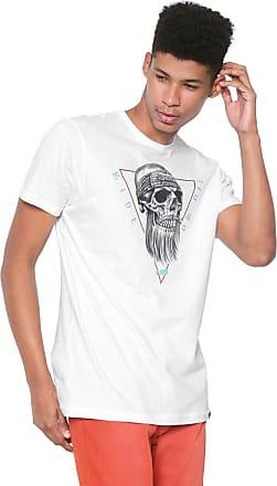 Hawaiian Dreams Camiseta HD Core Skull Branca