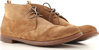 Officine Creative Desert Boots Chukka for Men On Sale, Leather Brown, Suede leather, 2017, 9