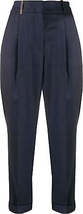 PESERICO Calça cintura alta - Azul