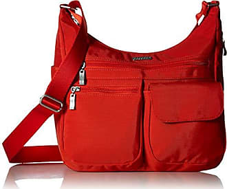Baggallini Everywhere Bagg with RFID, Vibrant Poppy