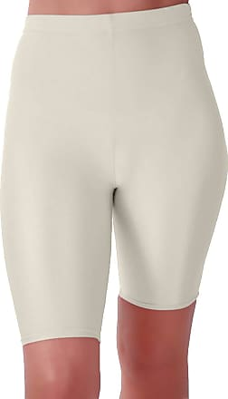 Eyecatch Ryder Womens Cycling Shiny Clubwear Gym Party Fitness Ladies Stretch Shorts Hot Pants White