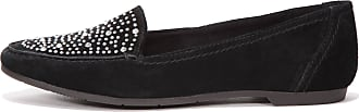 Marco Tozzi Marco Tozzi - Leather Loafers for Women Black Black Size: 8 UK