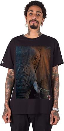 Stoned Camiseta Masculina Big Five Elefante - Tsmbfelef-pt-04