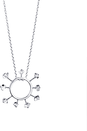 Efva Attling Here Comes The Sun Necklace Necklaces