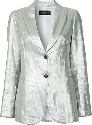 Fabiana Filippi lightweight tailored blazer - Metallic